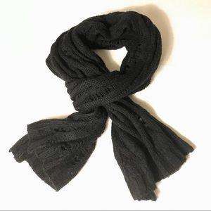 🦋 Cozy black winter scarf 🦋